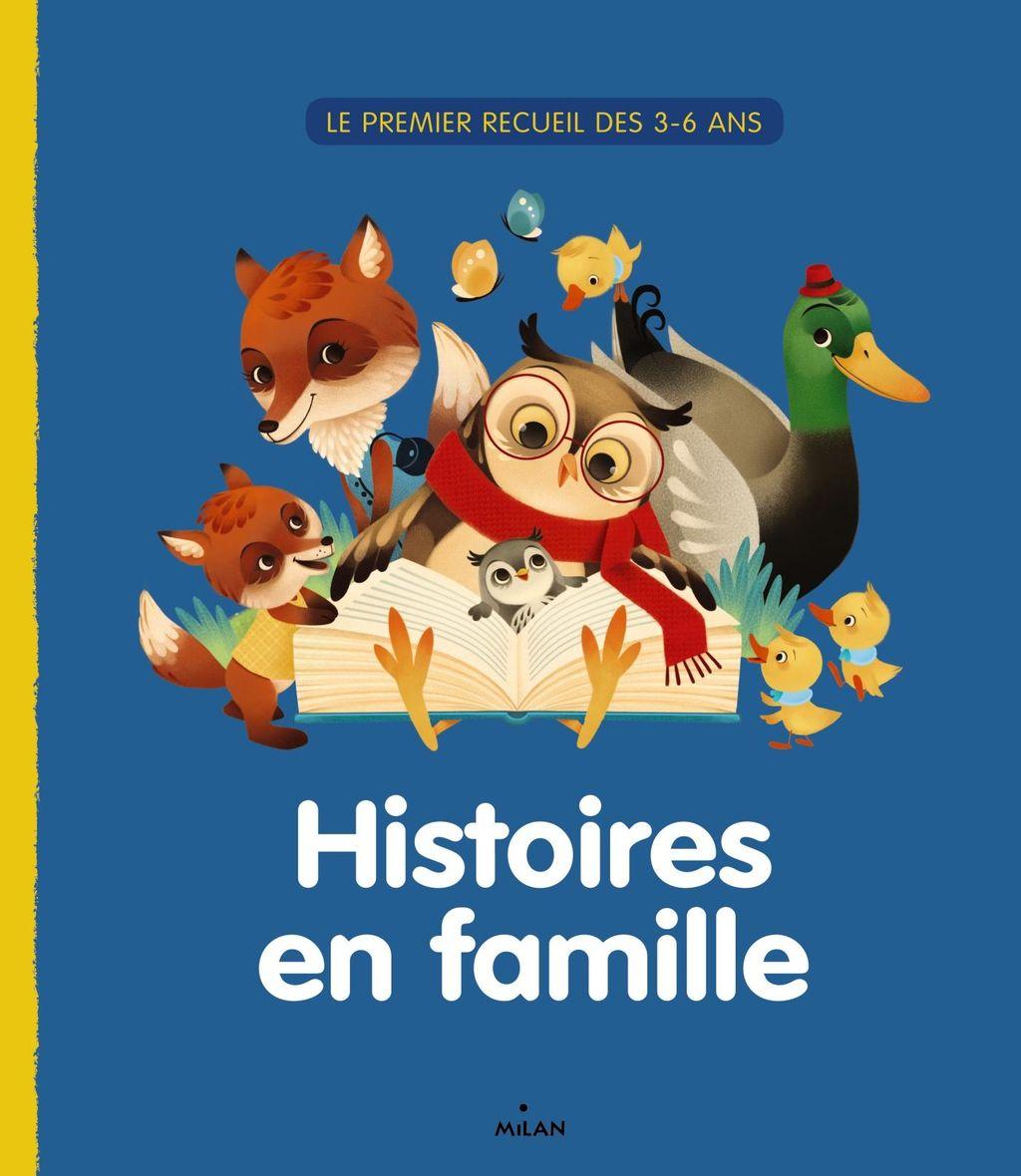Couverture de «Histoires en famille»
