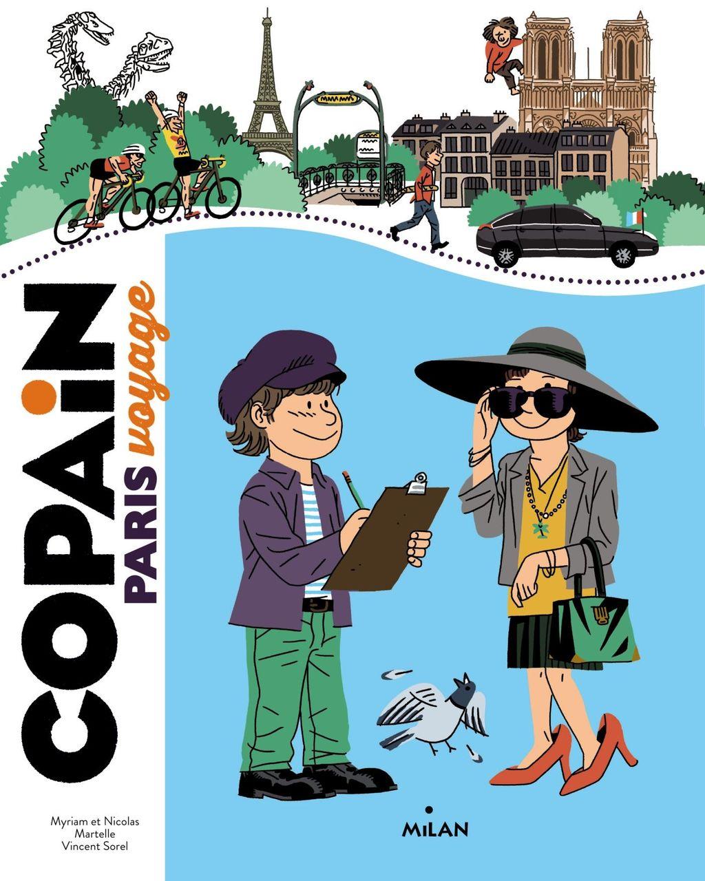 «Copain – Paris» cover