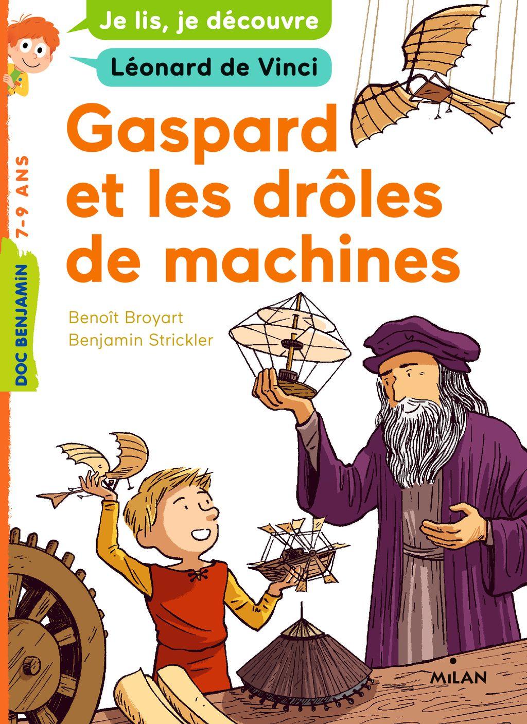 «Gaspard et les drôles de machines» cover