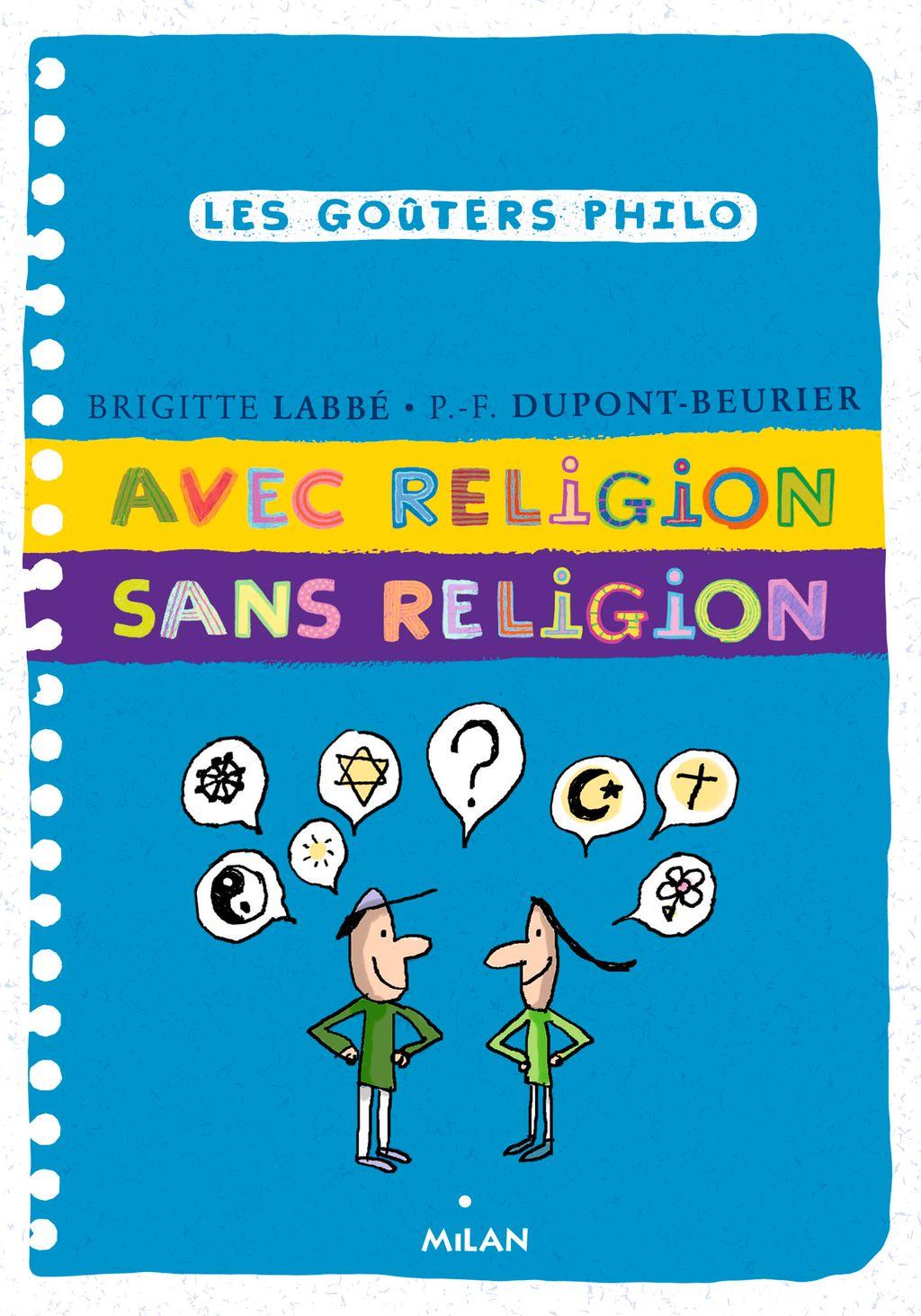Couverture de «Avec religion sans religion»