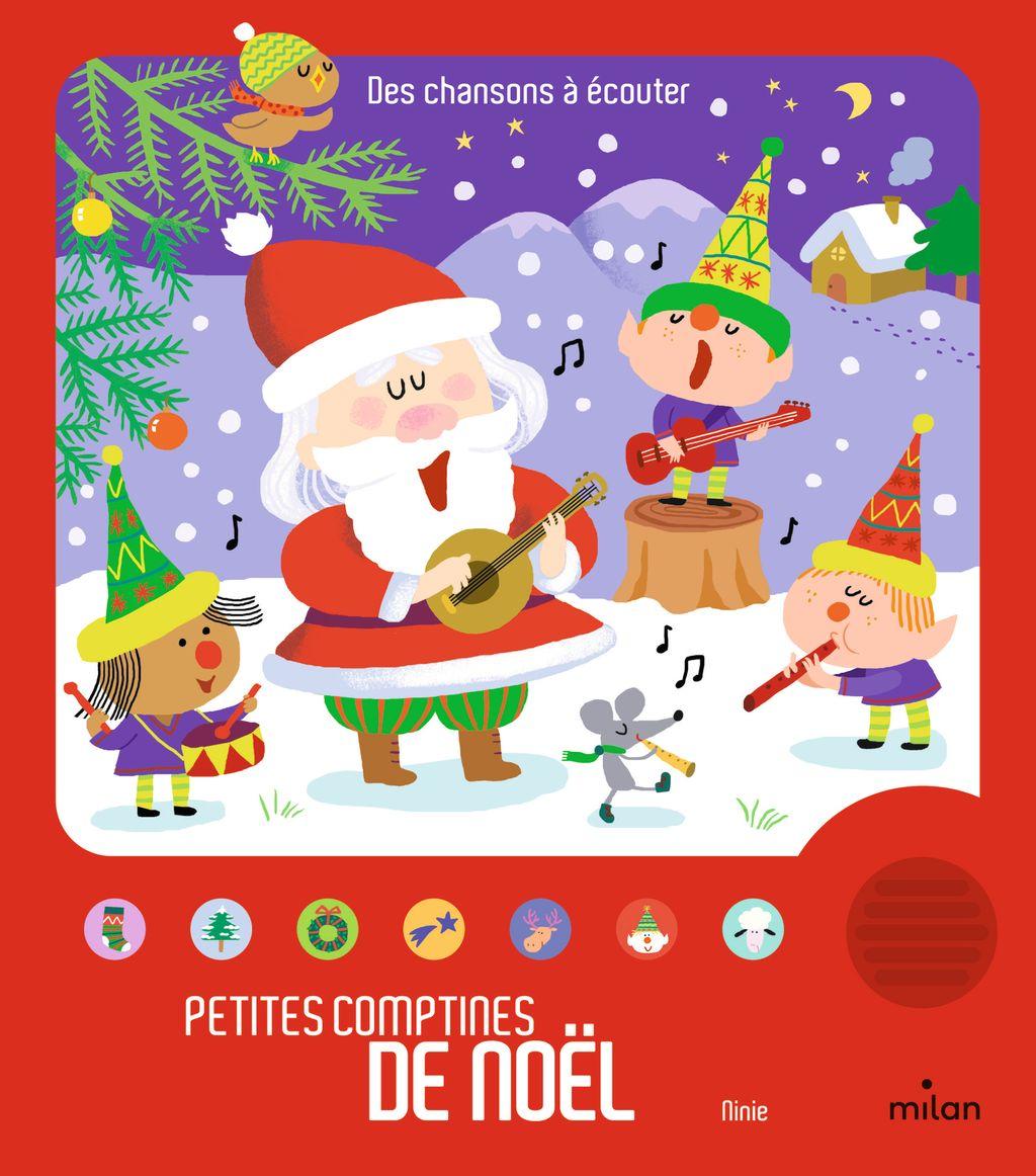 Couverture de «Petites comptines de Noël»