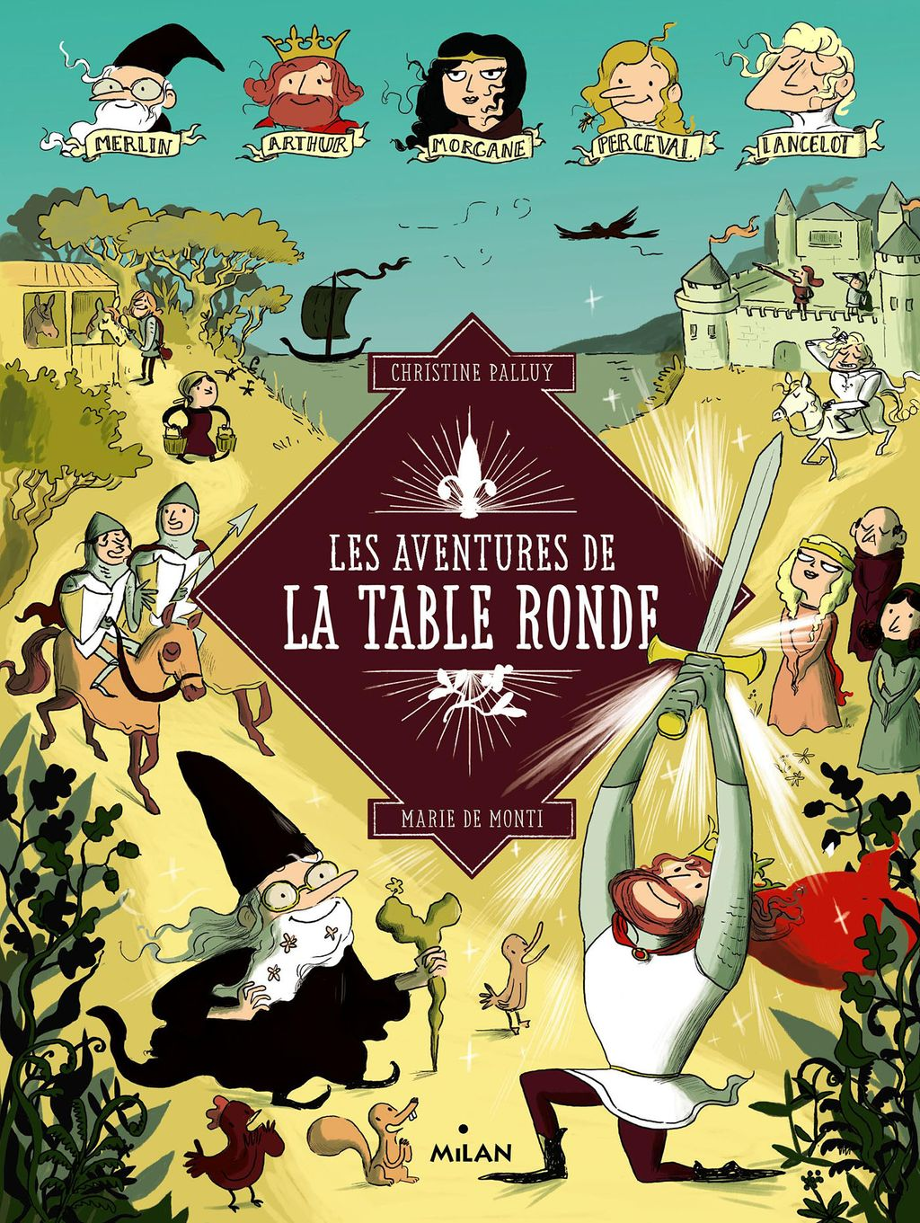 Couverture de «Les aventures de la Table Ronde»