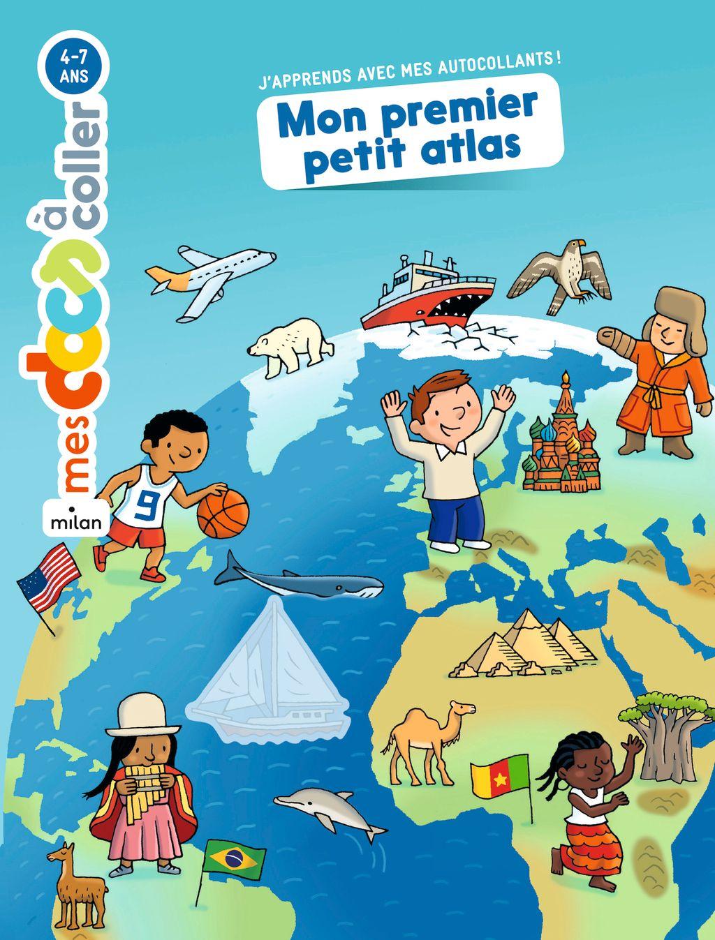 Couverture de «Mon premier petit atlas»