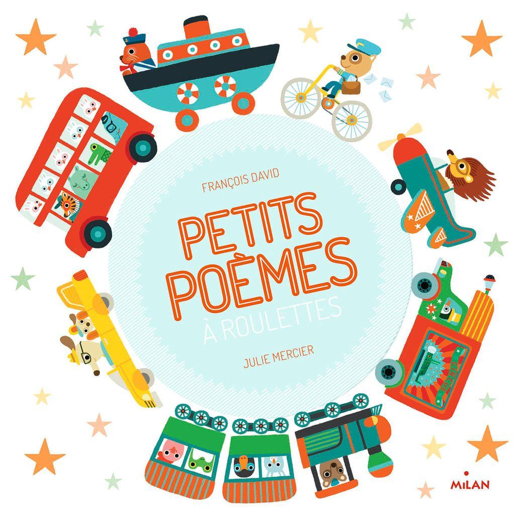 Couverture de «Petits poèmes à roulettes»