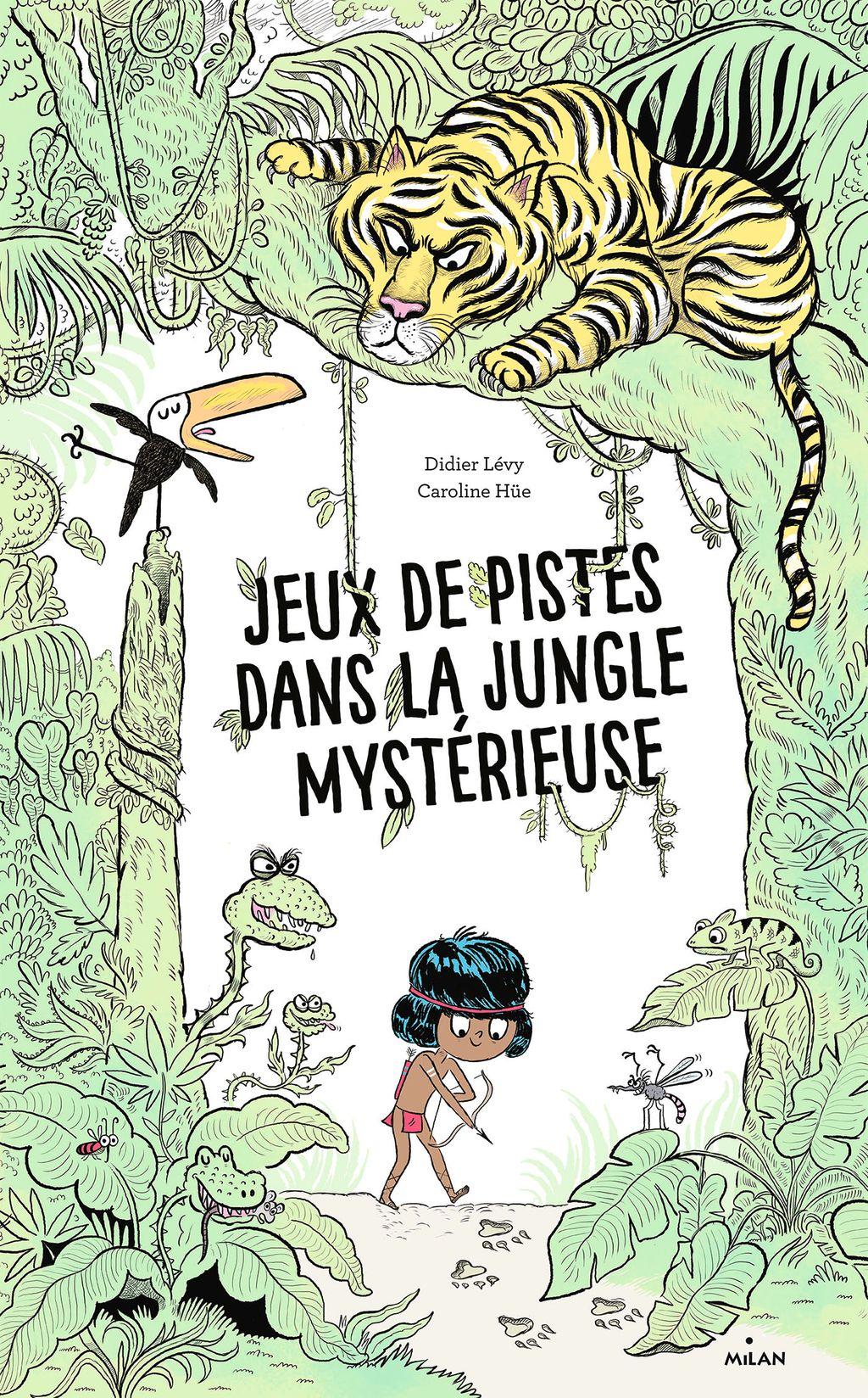 Couverture de «Jeux de pistes dans la jungle mystérieuse»