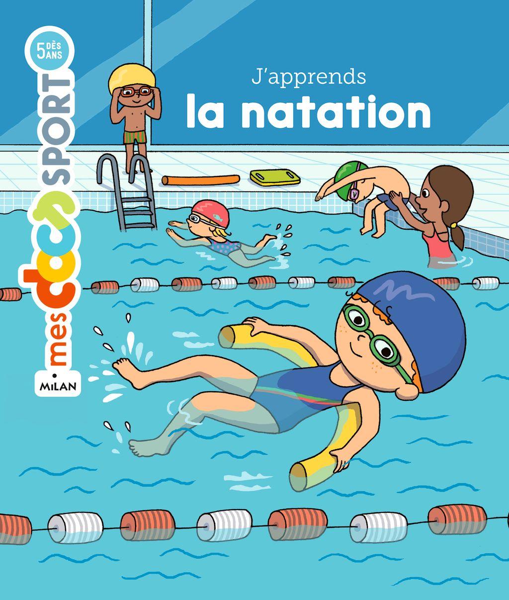 Couverture de «J'apprends la natation»
