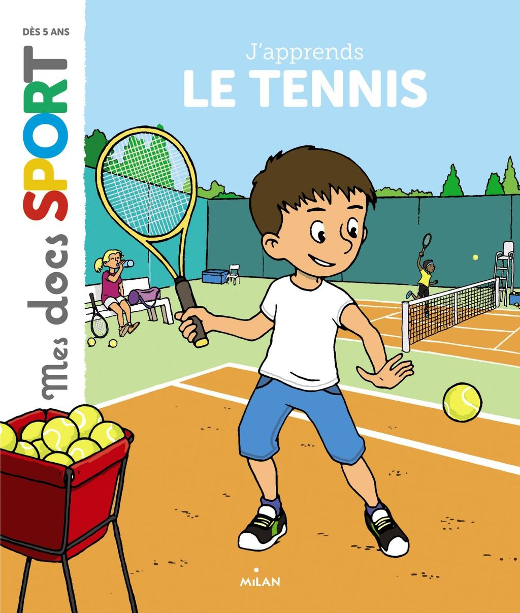 « J'apprends le tennis » cover