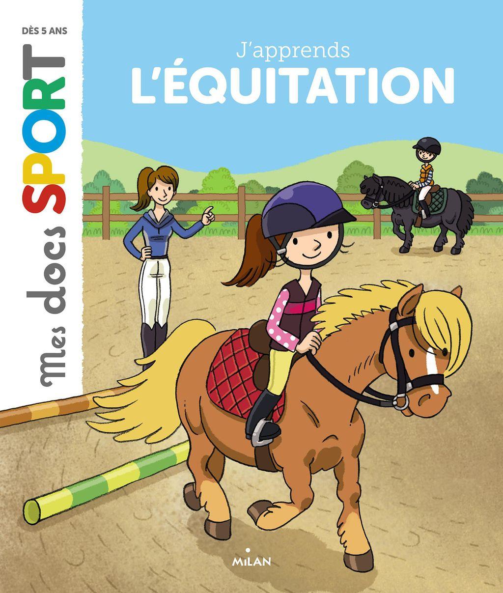 Couverture de «J'apprends l'équitation»