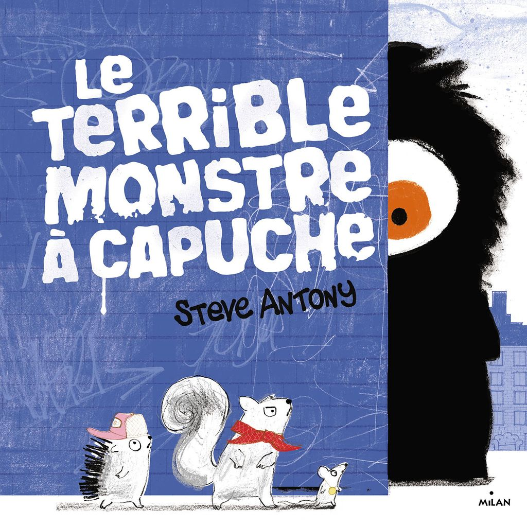 Couverture de «Le terrible monstre à capuche»
