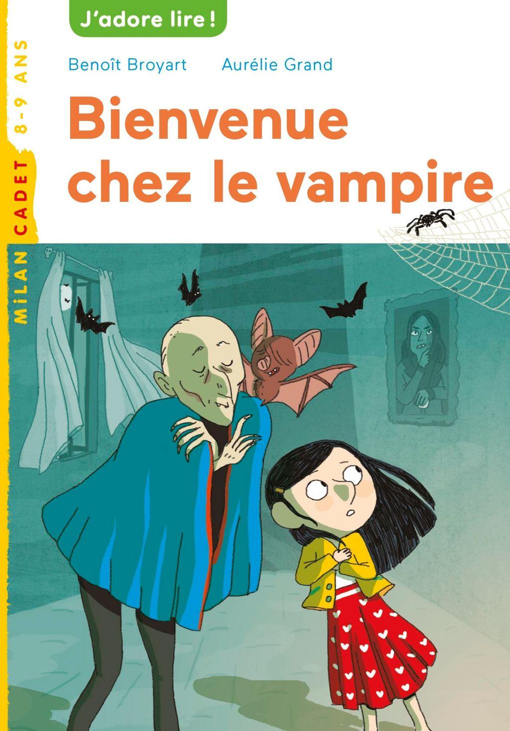 Couverture de «Bienvenue chez le vampire»