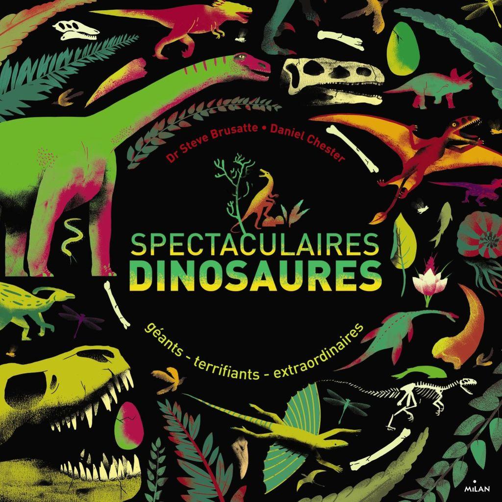Couverture de «Spectaculaires dinosaures»