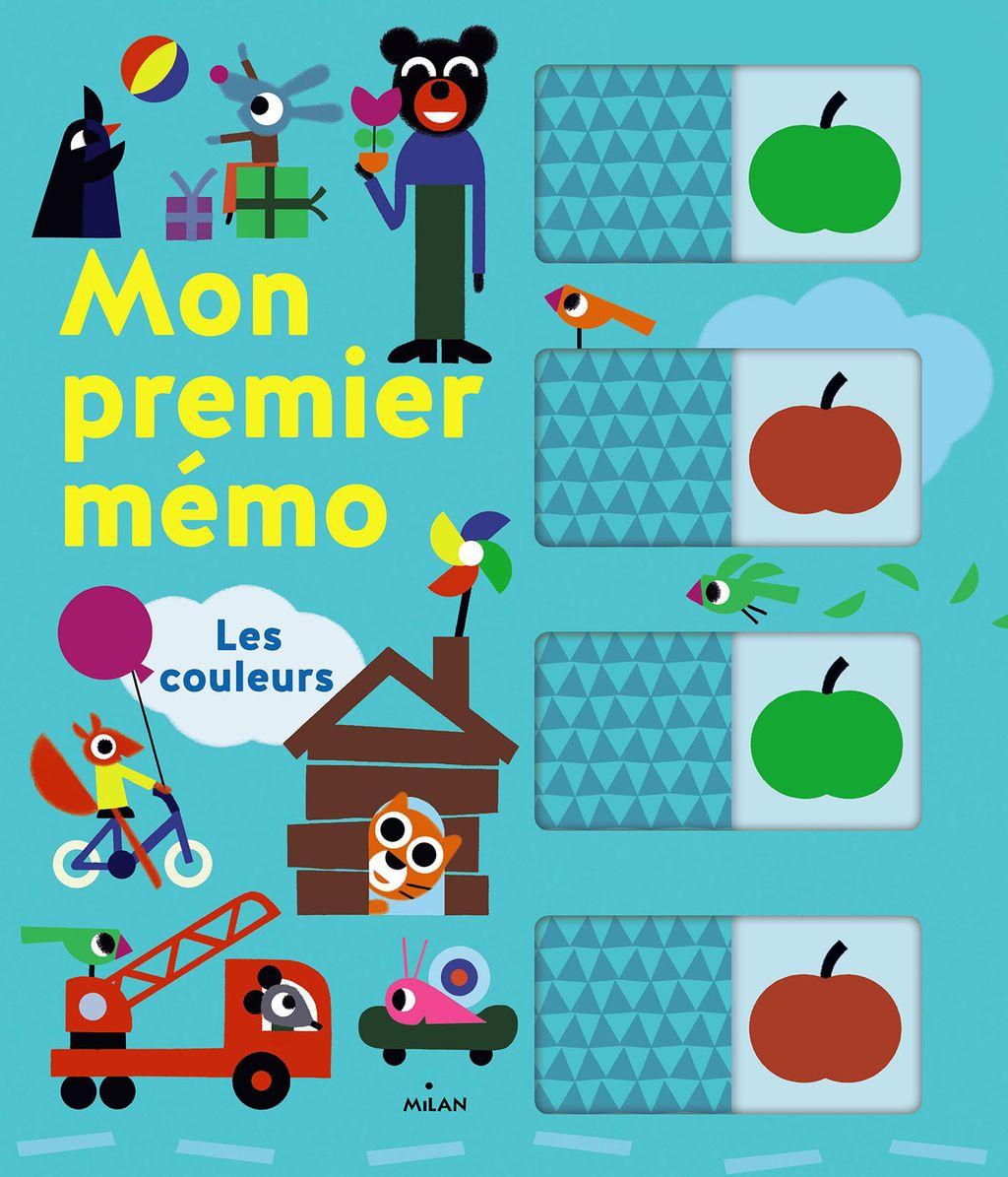 Couverture de «Mon premier mémo – Les couleurs»