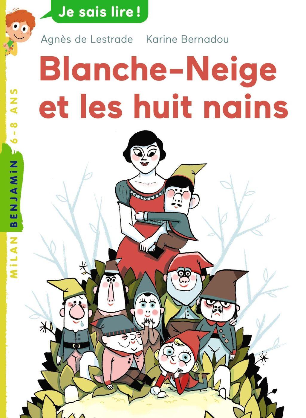 Couverture de «Blanche-Neige et les huit nains»