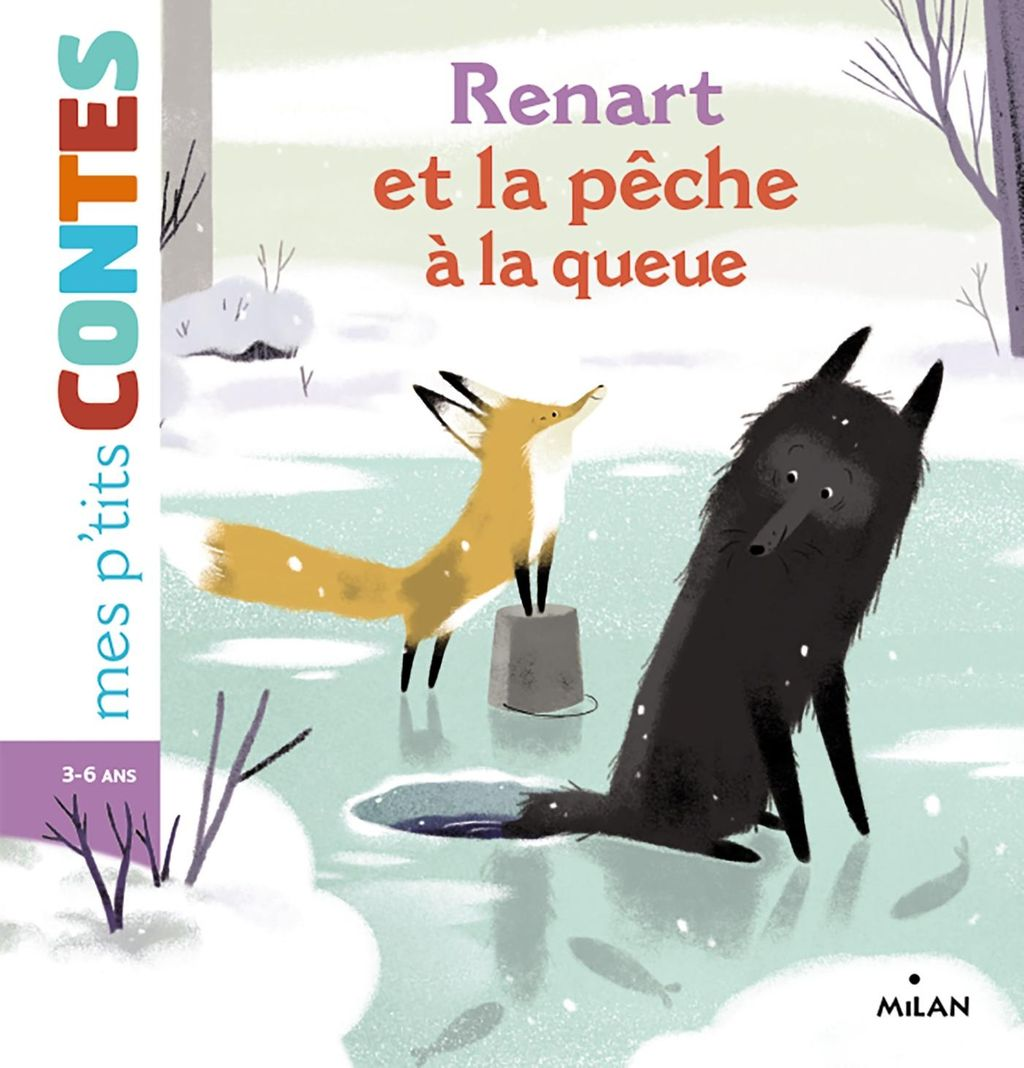 « Renart et la pêche à la queue » cover