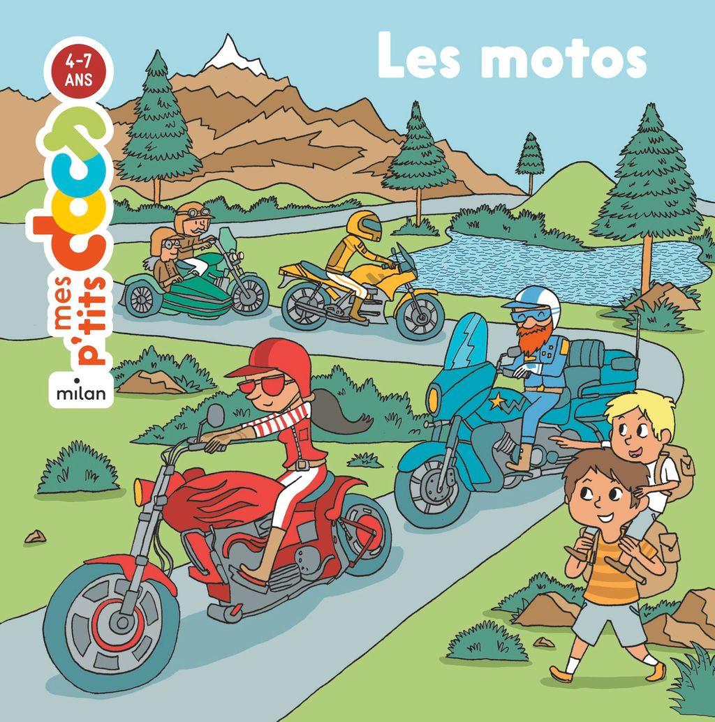 «Les motos» cover