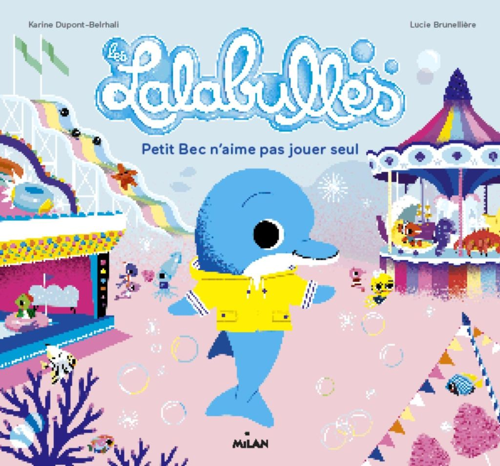 «Les Lalabulles – Petit Bec n'aime pas jouer tout seul» cover