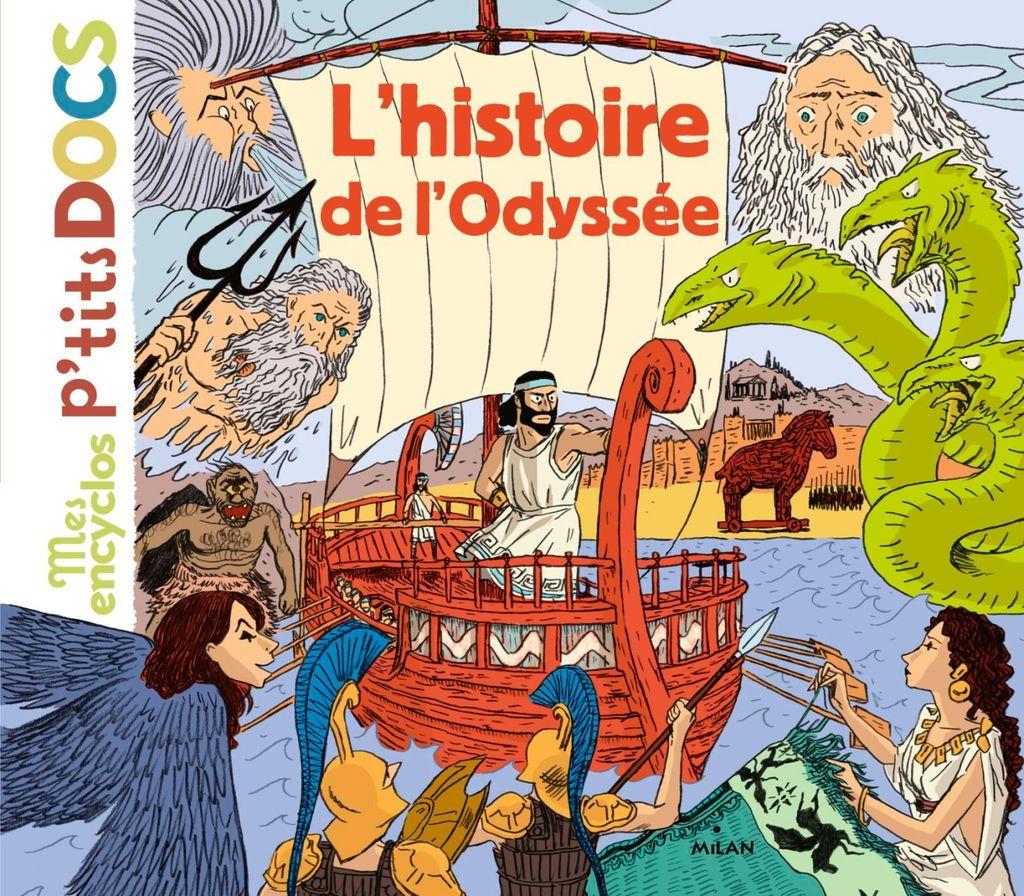 Couverture de «L'histoire de l'Odyssée»