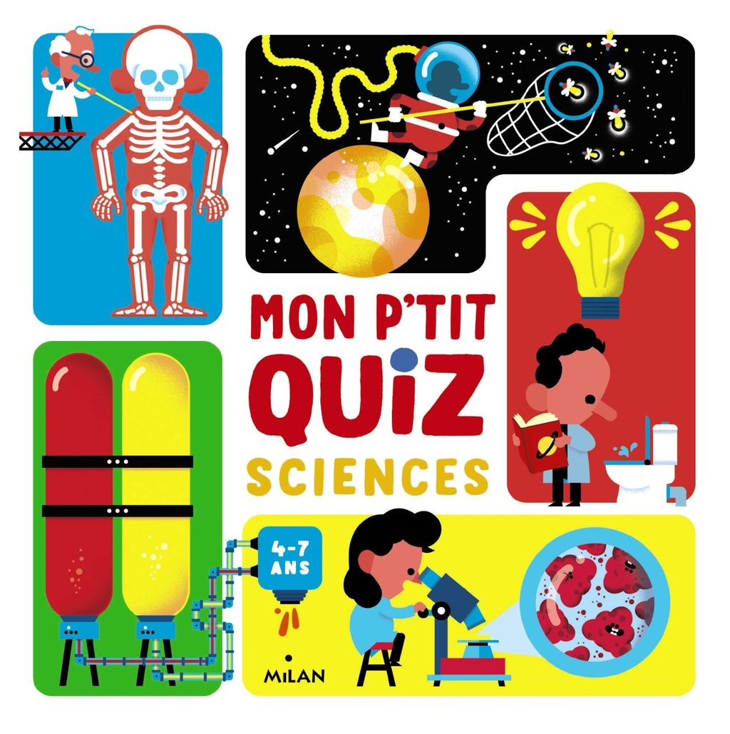 « Mon p'tit quiz sciences » cover