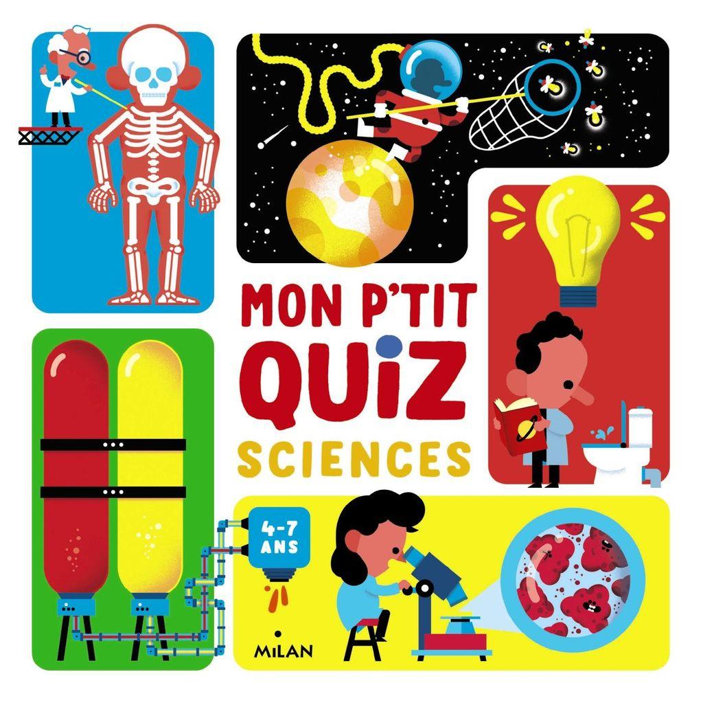 «Mon p'tit quiz sciences» cover