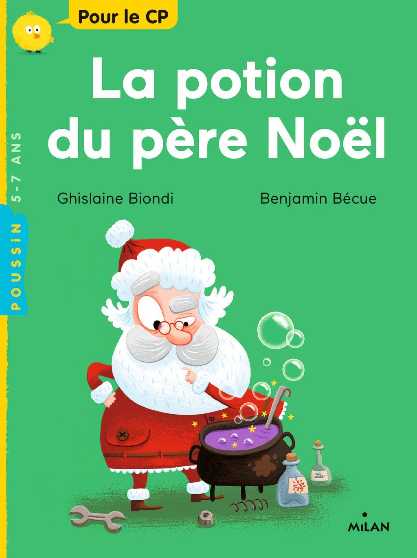 «La potion du père Noël» cover