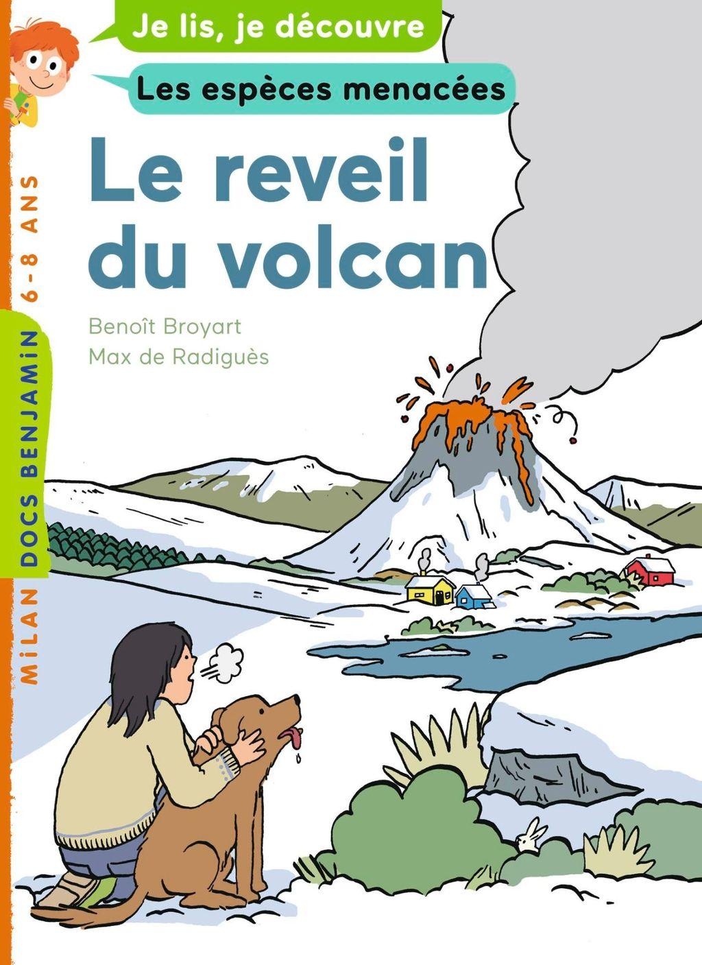 «Le réveil du volcan» cover