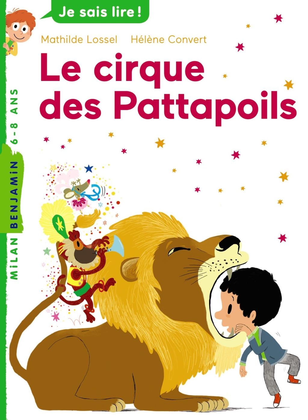 « Le cirque des Pattapoils » cover