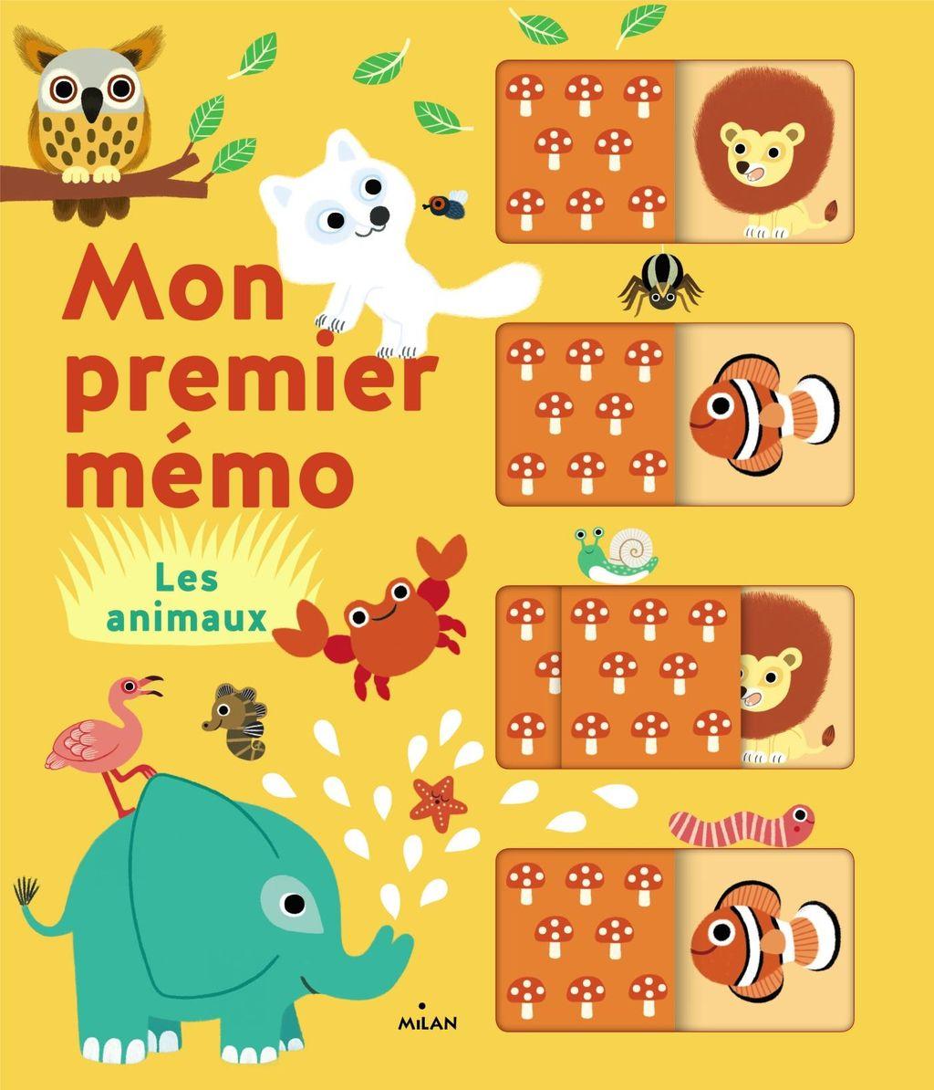 Couverture de «Mon premier mémo – Les animaux»