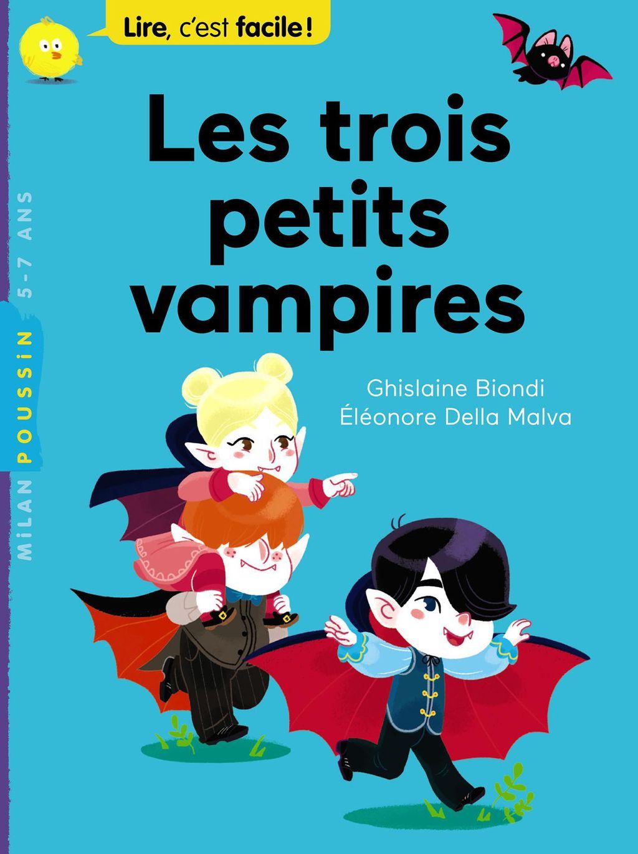 Couverture de «Les trois petits vampires»
