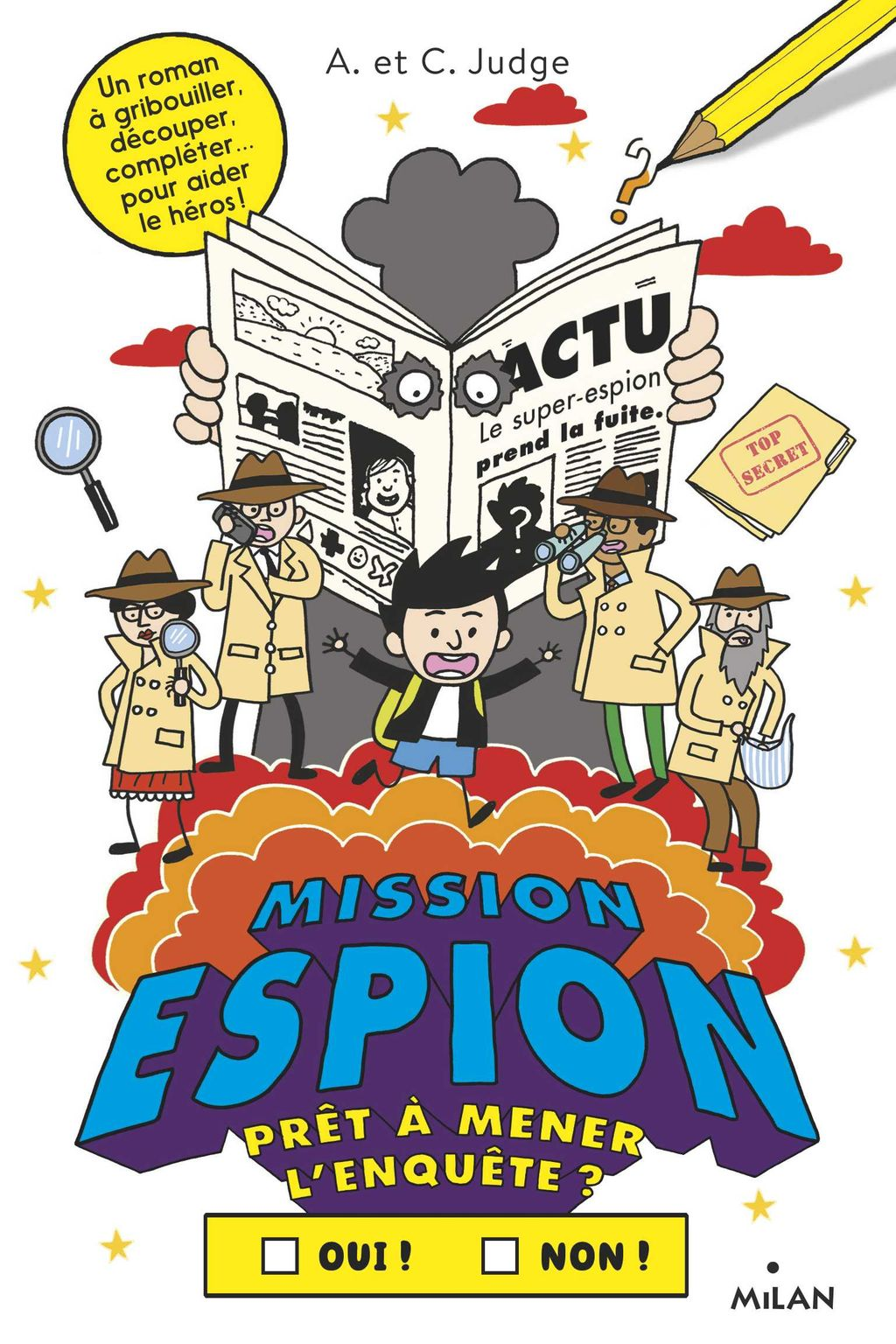 Couverture de « Mission espion »