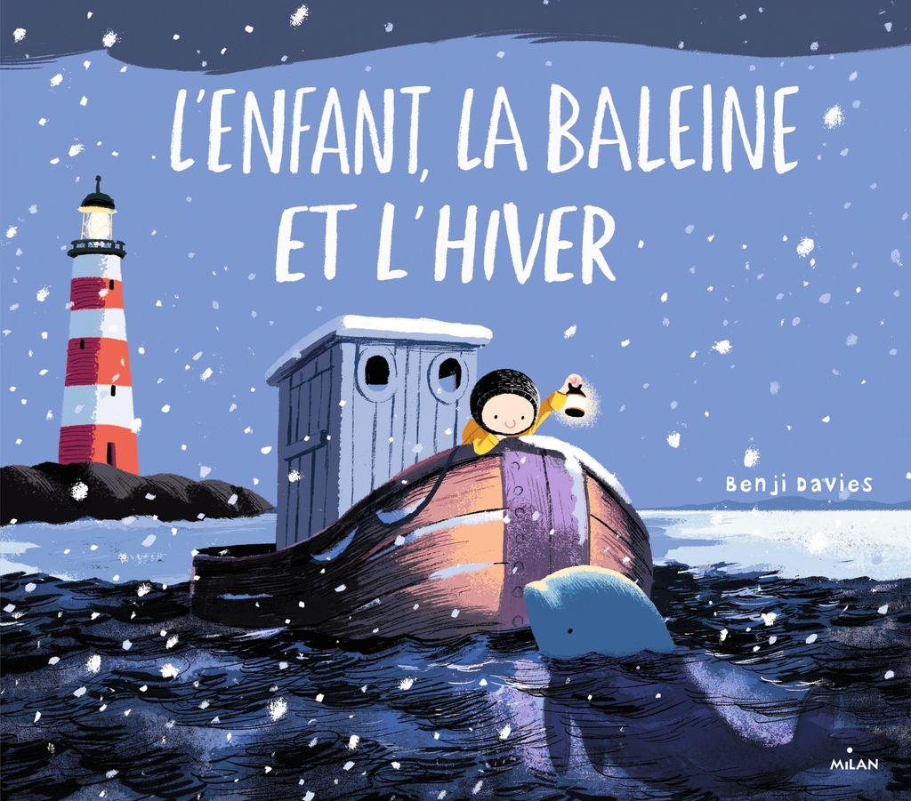 Couverture de «L'enfant, la baleine et l'hiver»