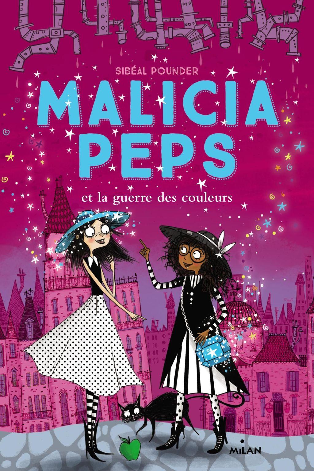 Couverture de «Malicia Peps et la guerre des couleurs»