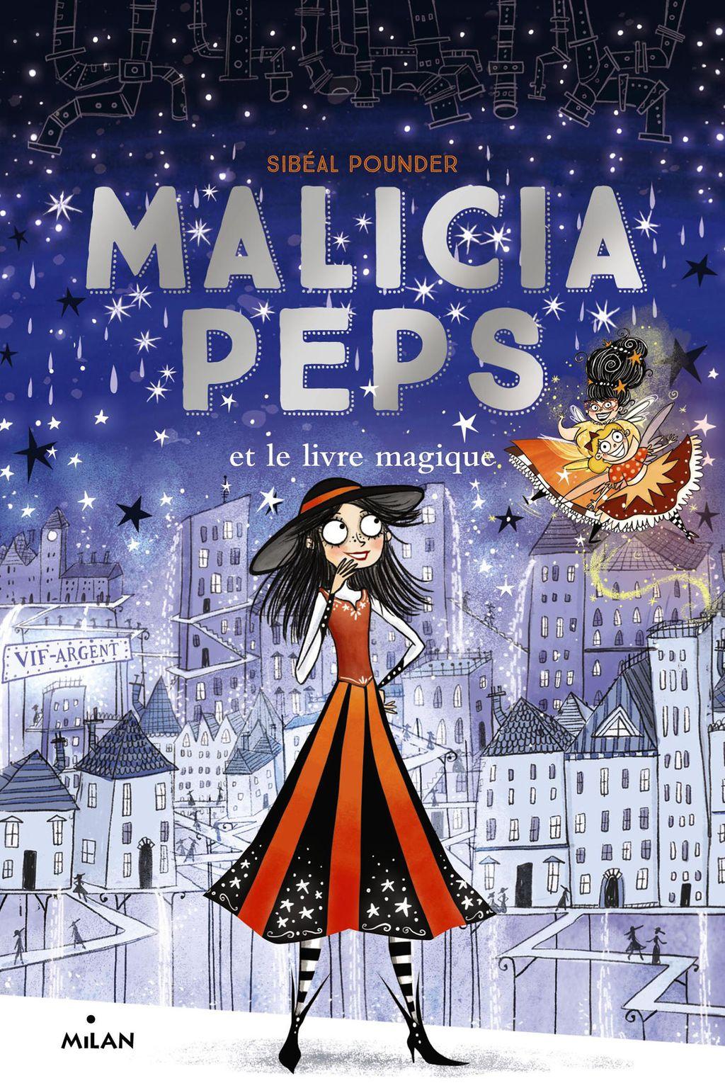 Couverture de «Malicia Peps et le livre magique»