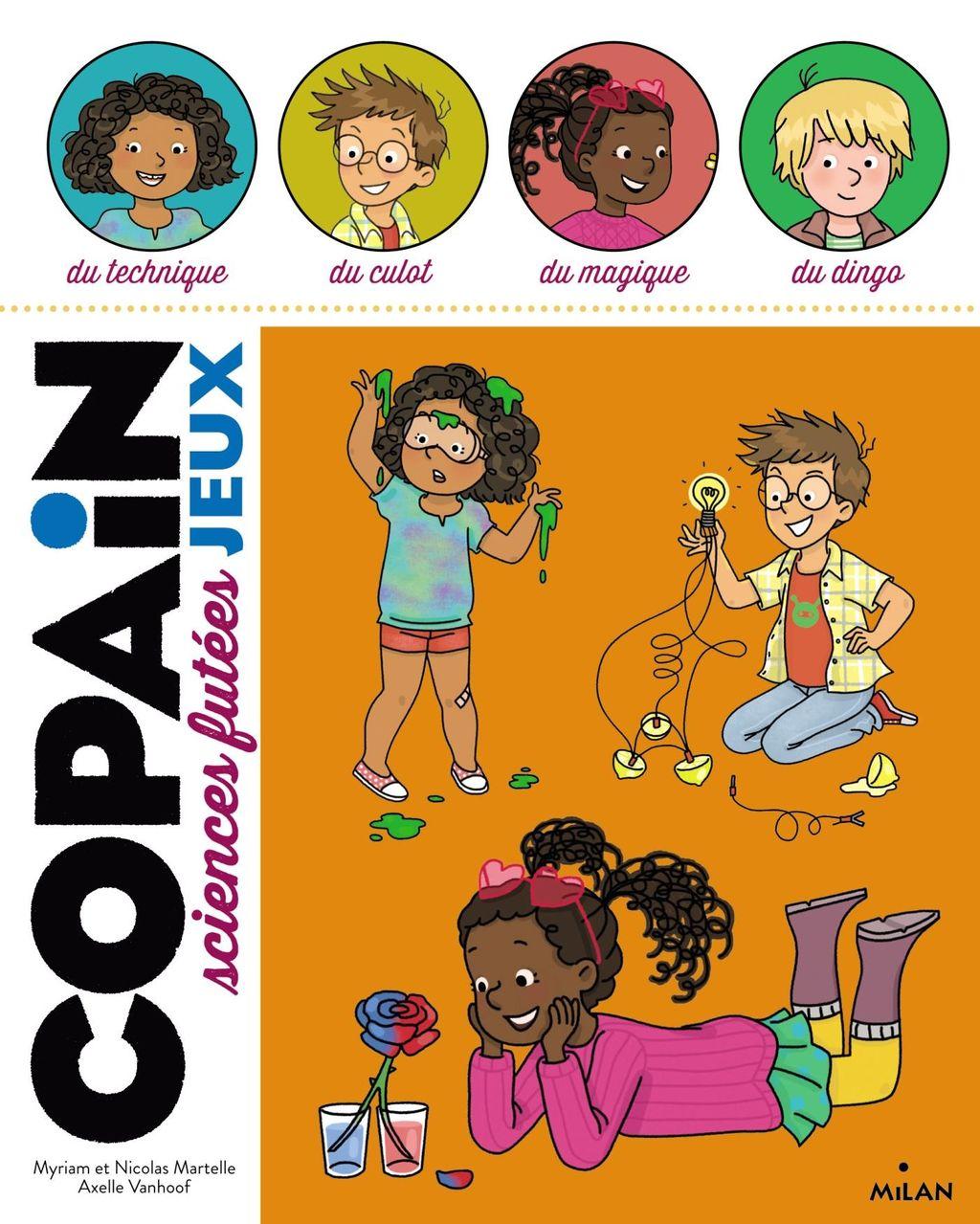 «Copain- Sciences futées» cover