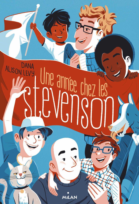 Couverture de «Une année chez les Stevenson»