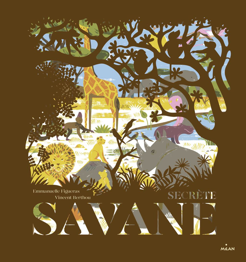 « Secrète savane » cover