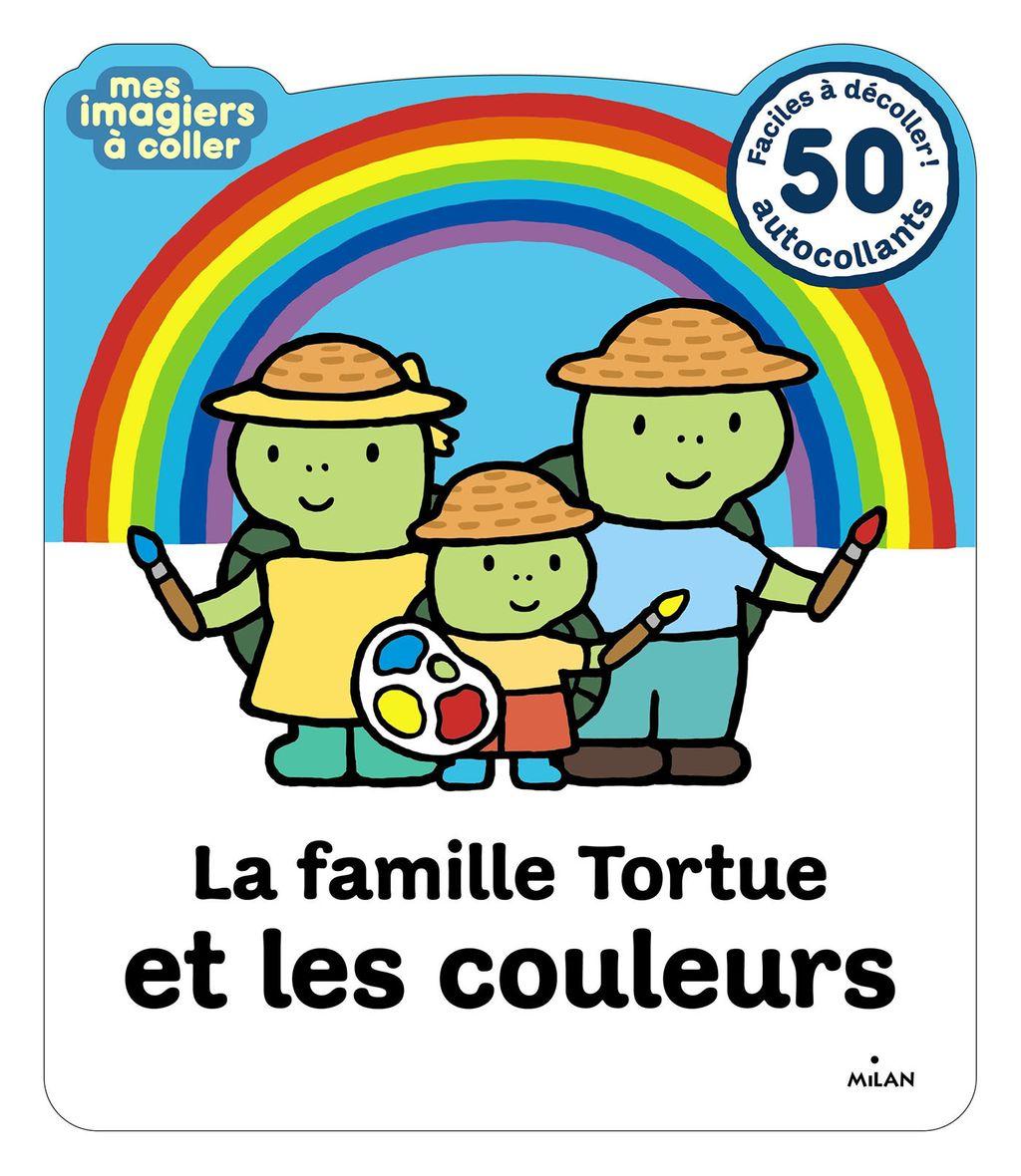 Couverture de «La famille Tortue et les couleurs»