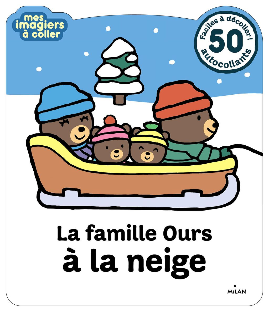 Couverture de «La famille Ours à la neige»
