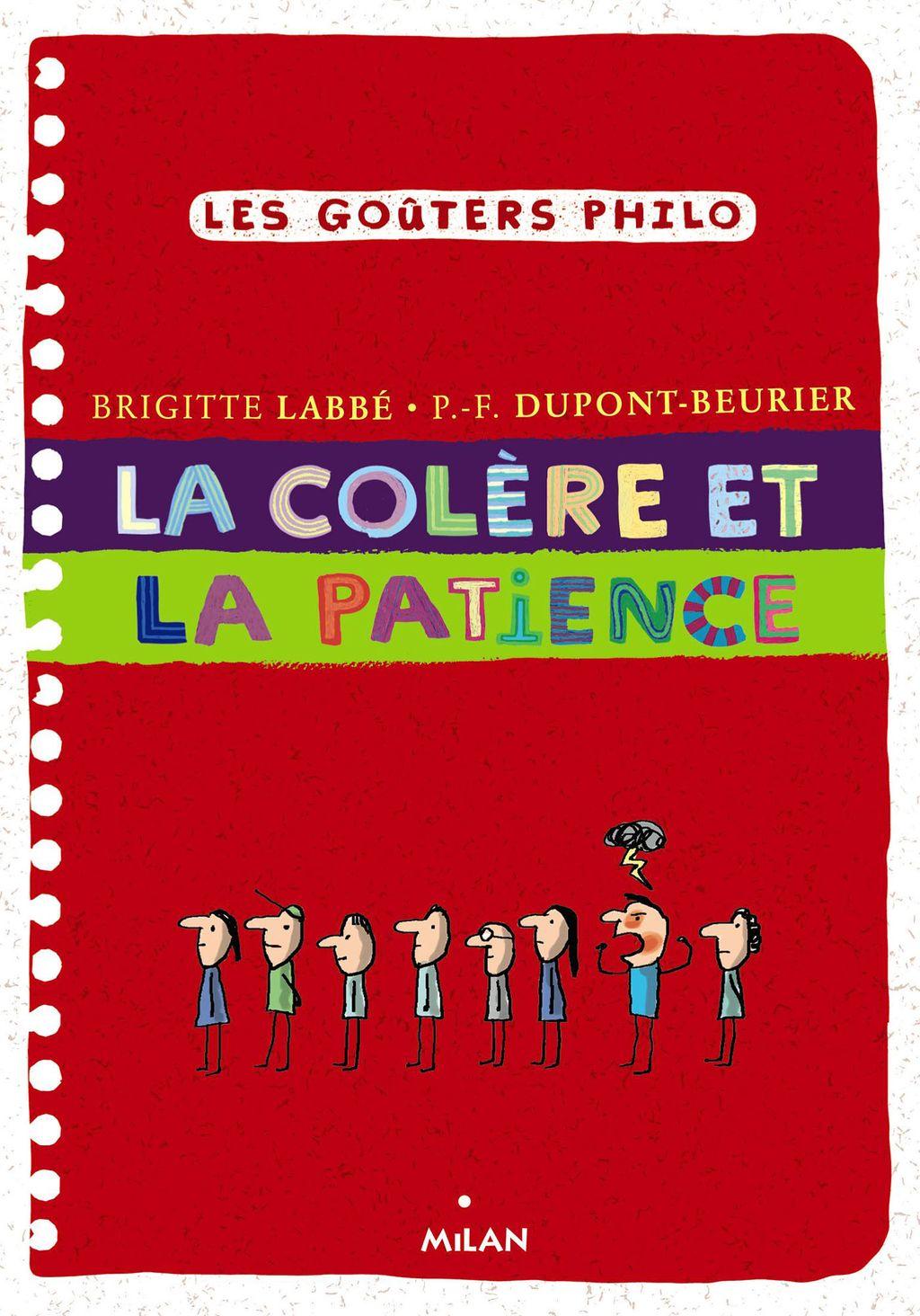 «La colère et la patience» cover