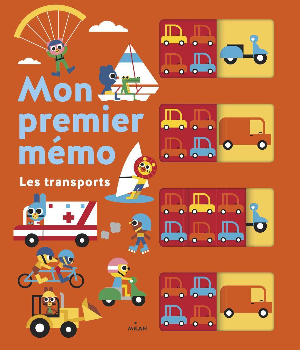 «Mon premier mémo – Les transports» cover