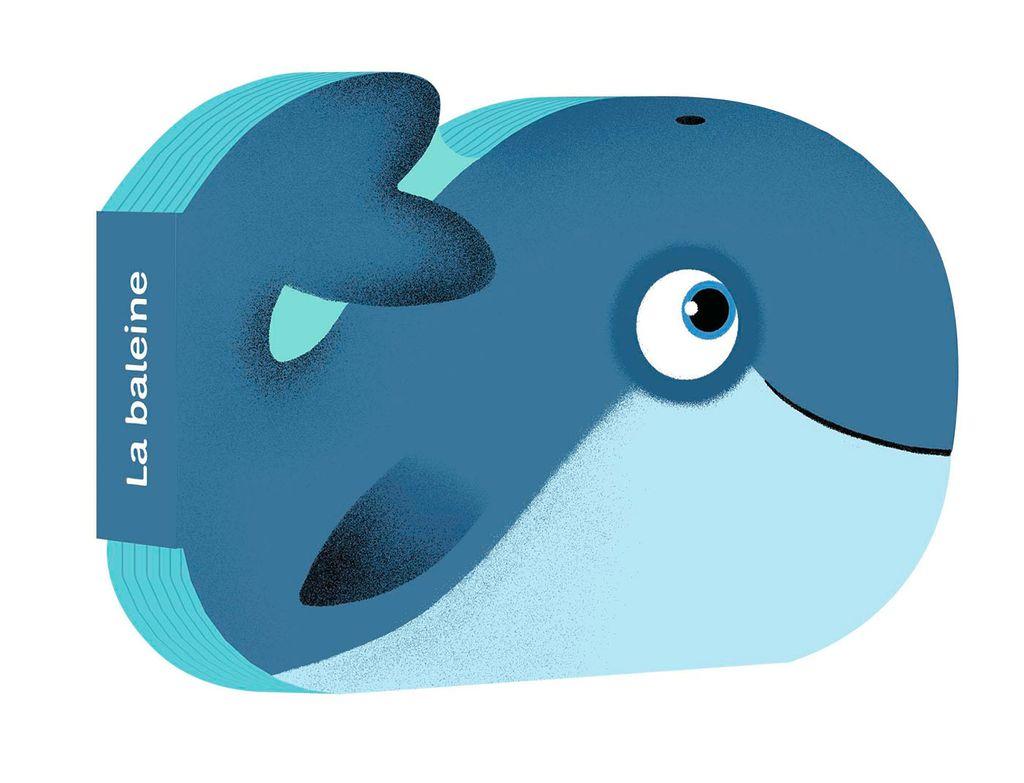 Couverture de «C'est la baleine»