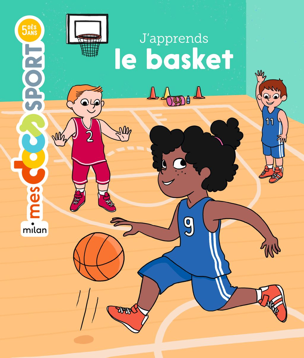 « J'apprends le basket » cover