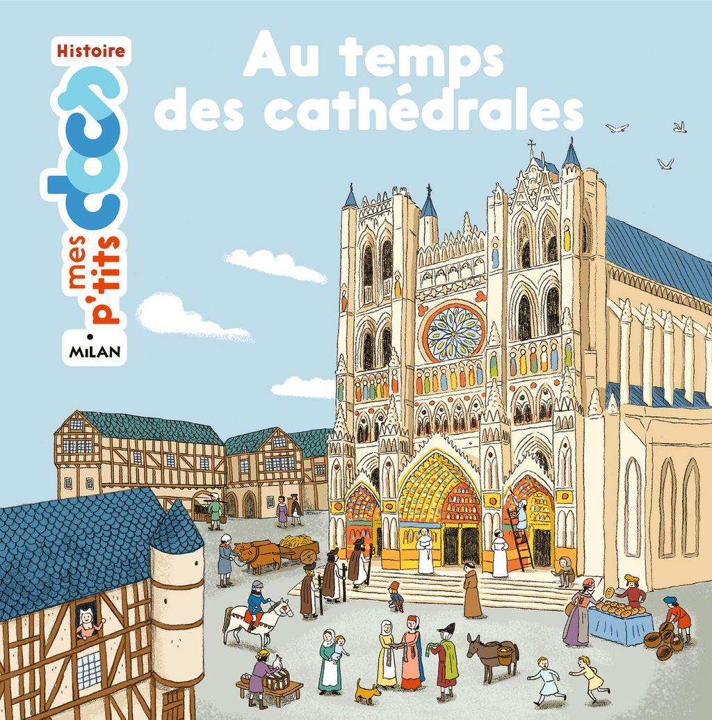 Couverture de «Au temps des cathédrales»