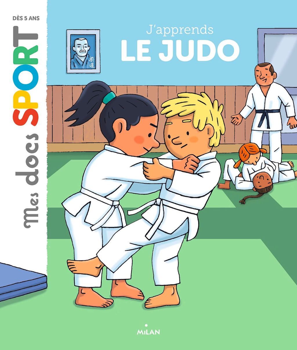 Couverture de «J'apprends le judo»