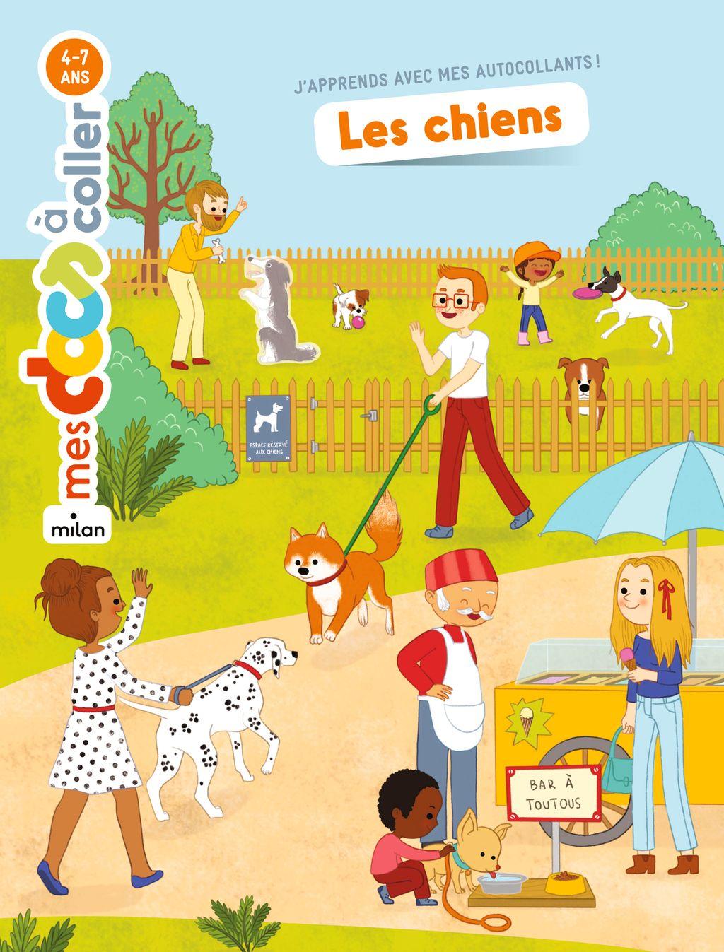 «Les chiens» cover