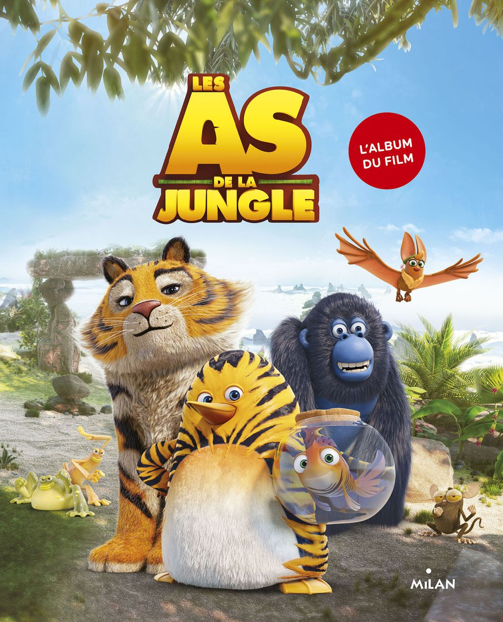 Couverture de « Les As de la jungle – L'album »