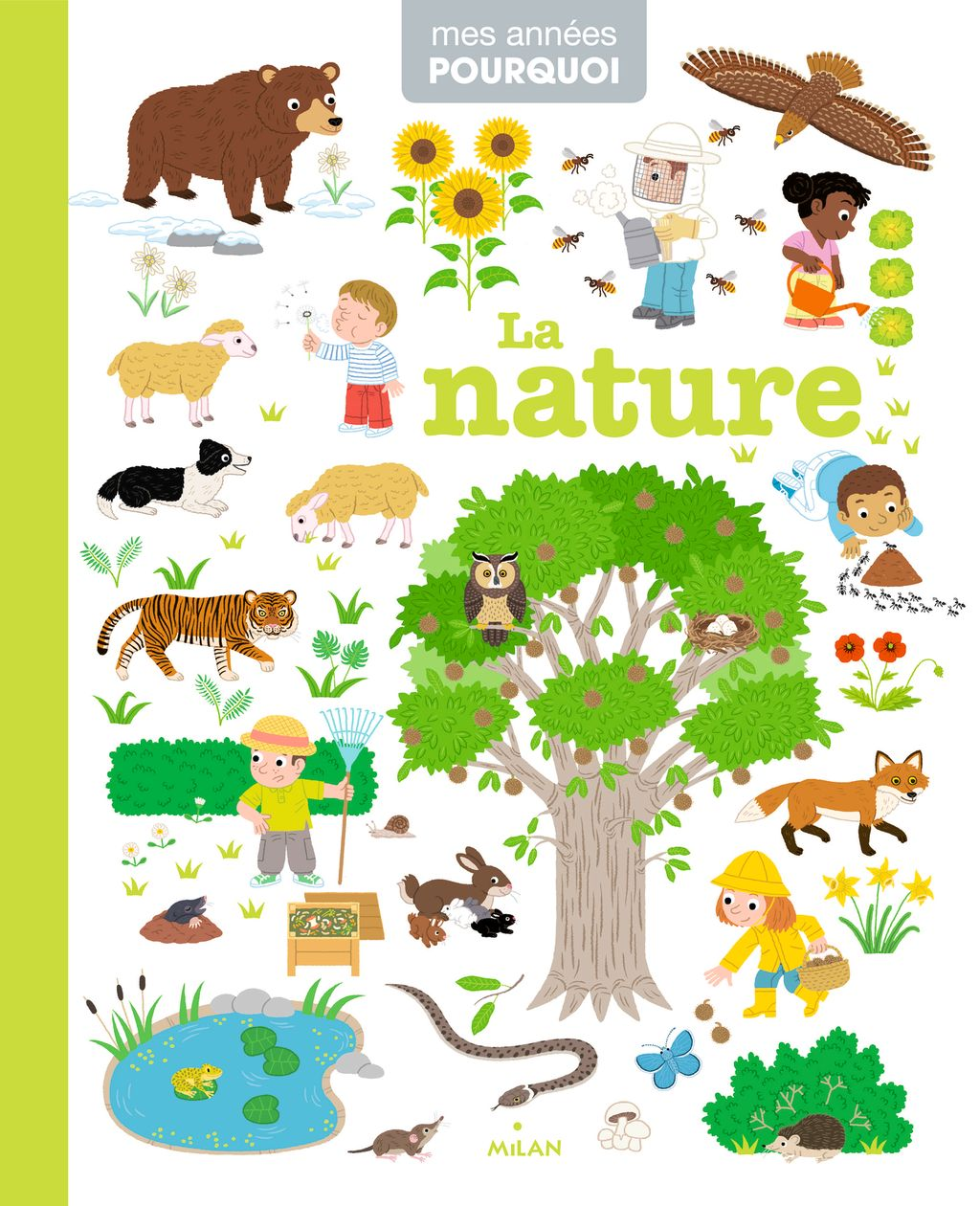 Couverture de «La nature»