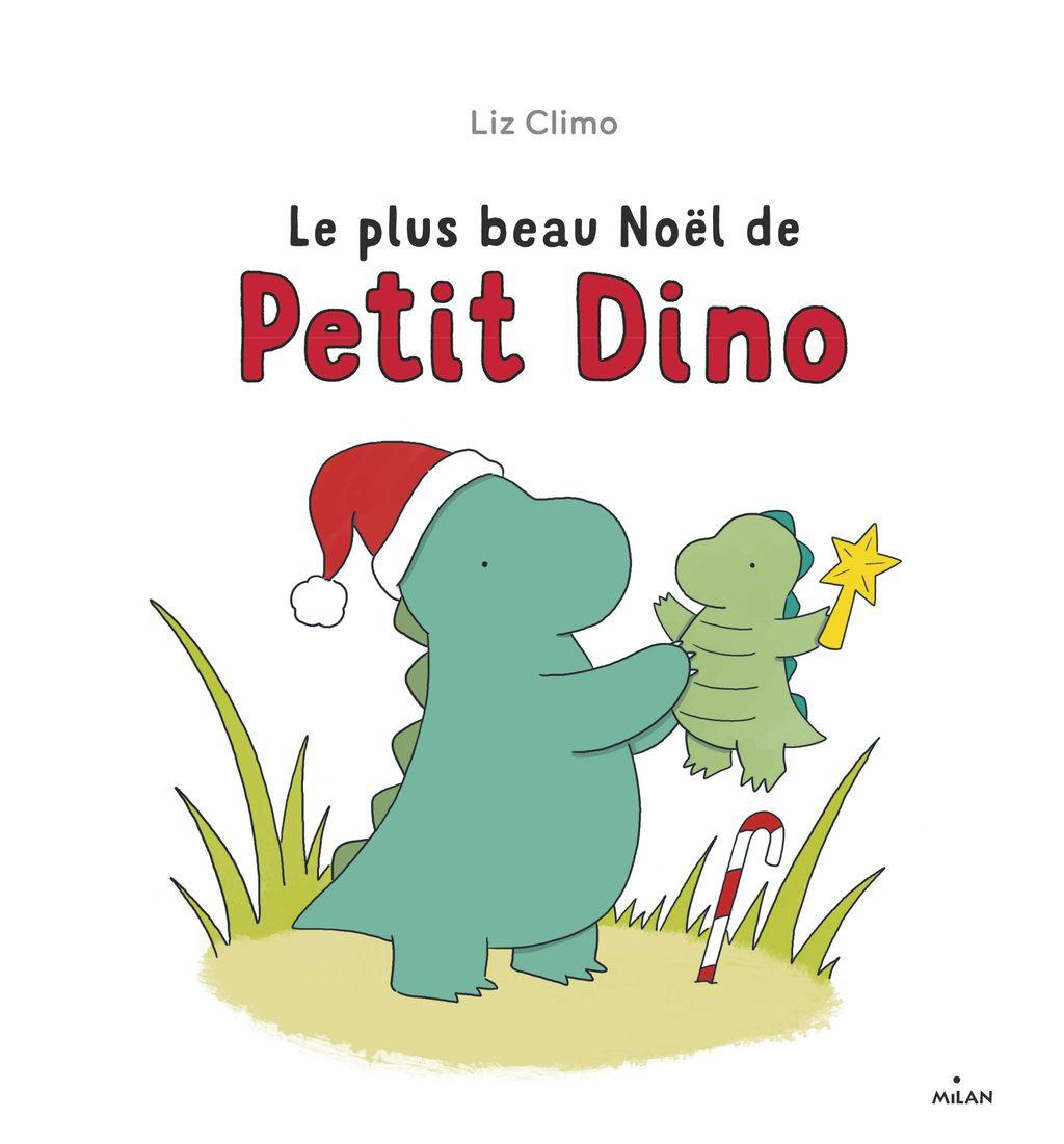 Couverture de «Le plus beau Noël de Petit Dino»