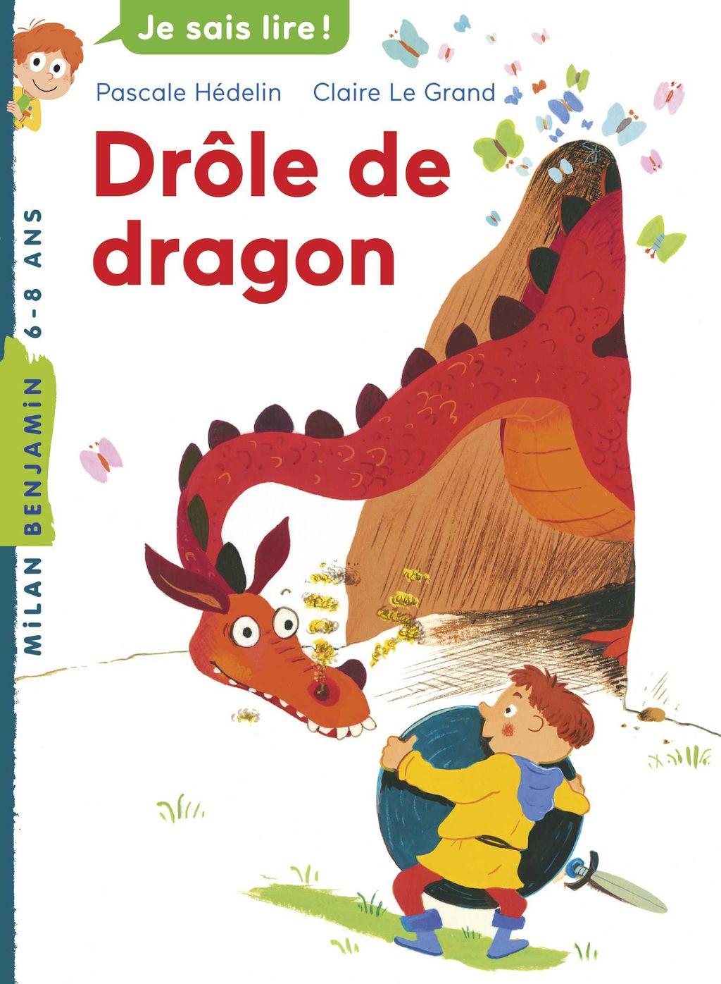 «Drôle de dragon» cover