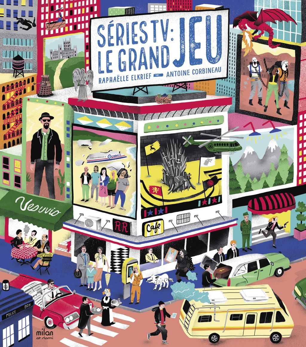 « Séries TV : le grand jeu » cover