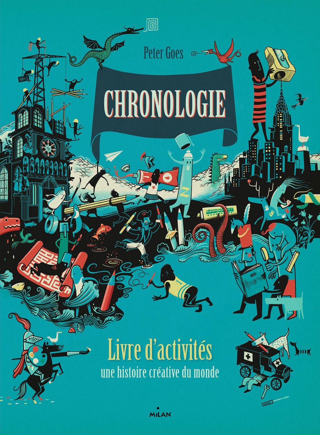 Couverture de «Chronologie – Le livre d'activités»